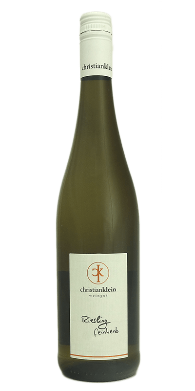Klein Riesling Feinherb 2019 produceret af Weingut Christian Klein Fra Mosel i Tyskland