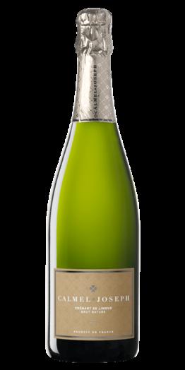 Crémant de Limoux Brut Nature produceret af Calmel&Joseph fra Languedoc-Roussillon i Frankrig