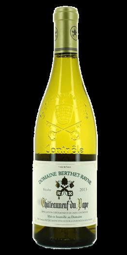 Berthet-Rayne Châteauneuf-du-Pape Blanc produceret af Domaine Berthet-Rayne fra Rhône i Frankrig