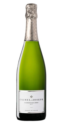 Blanquette de Limoux produceret af Calmel&Joseph fra Languedoc-Roussillon i Frankrig