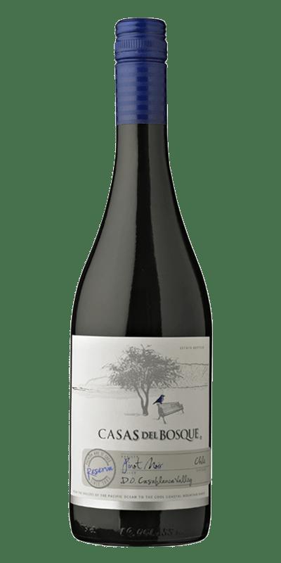 Casas del Bosque Reserva rødvin produceret af Casas del Bosque Fra Casablanca Valley i Chile