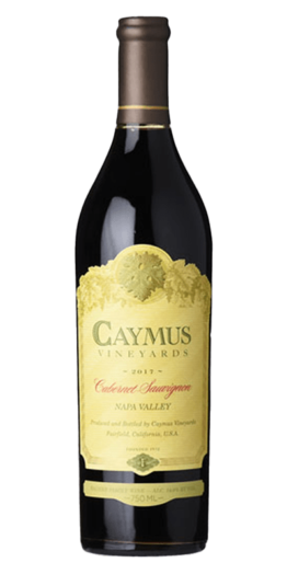 Caymus Cabernet Sauvignon er produceret af Caymus fra Napa Valley i USA