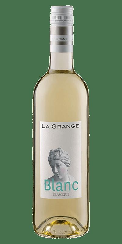 Classique Blanc hvidvin produceret af La Grange fra Languedoc-Roussillon i Frankrig