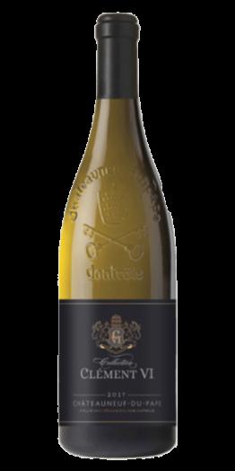Clement VI Châteauneuf Blanc produceret af Wine&Brands fra Rhône i Frankrig