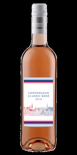 Copenhagen Classic Rosé Rosévin produceret af La Grange fra Languedoc-Roussillon i Frankrig