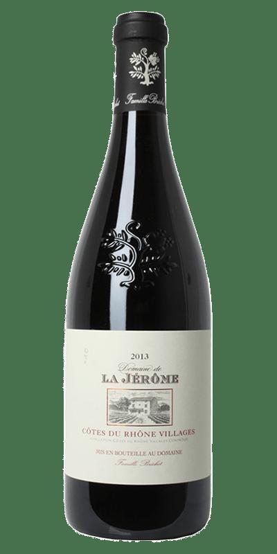 Domaine Jerome Rhone Village rødvin produceret af Domaine Jerome fra Rhône i Frankrig
