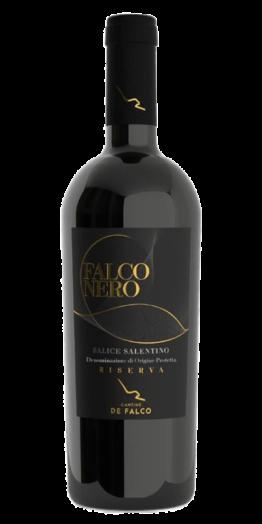 Falco Nero 2014 produceret af Cantine de Falco fra Apulien i Italien