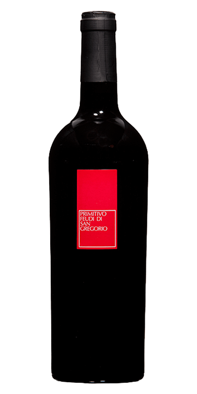 Feudi di San Gregorio 2016 rødvin produceret af Feudi di San Gregorio Fra Apulien i Italien
