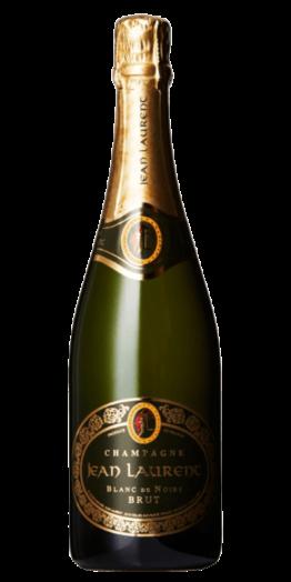 Jean Laurent Blanc de Noirs produceret af Jean Laurent fra Champagne i Frankrig