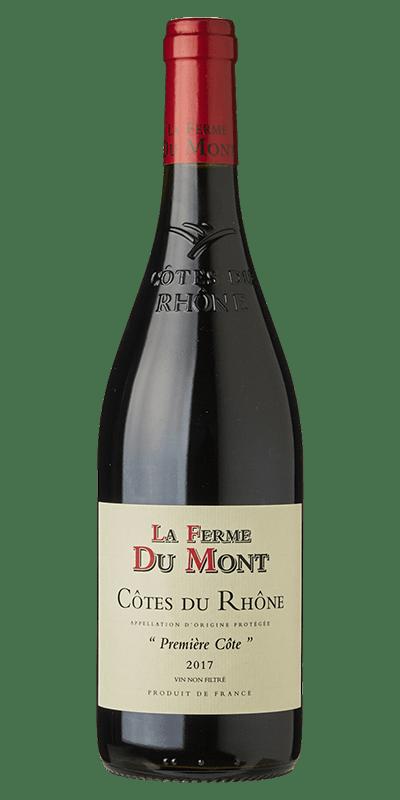 La Ferme du Mont 2012 rødvin produceret af Ferme du Mont fra Rhône i Frankrig