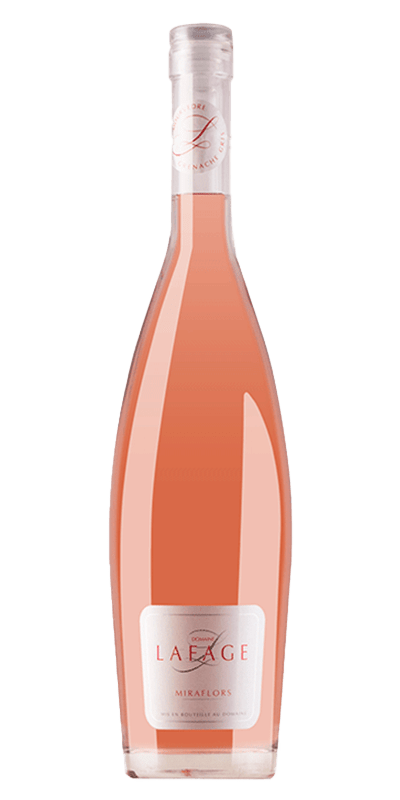 Lafage Miraflors Rosé rosévin produceret af Lafage fra Languedoc-Roussillon i Frankrig