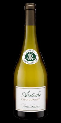 Louis Latour Ardeche Chardonnay hvidvin produceret af Louis Latour fra Rhône i Frankrig