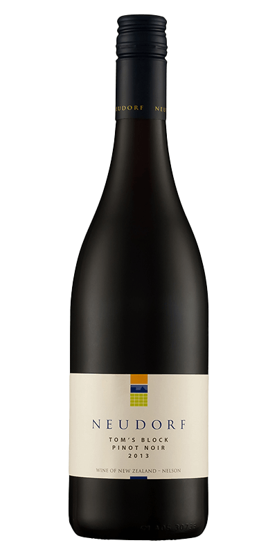 Neudorf Toms Block Pinot Noir prdouceret af Nuedorf fra Nelson i New Zealand
