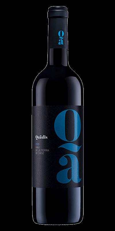 Quadis Joven rødvin produceret af Barbadillo fra Cádiz i Spanien
