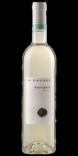 Terroir Sauvignon hvidvin produceret af La Grange fra Languedoc-Roussillon i Frankrig