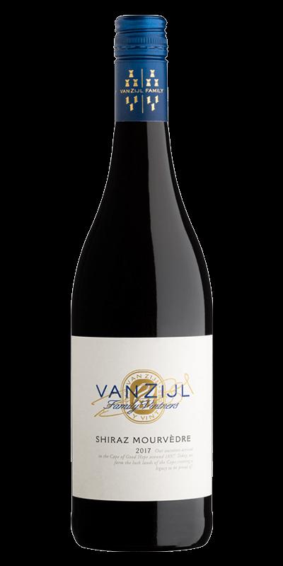 Van Zijl Shiraz-Mouvedre 2017 rødvin produceret af Van Zijl fra Wellington i Sydafrika