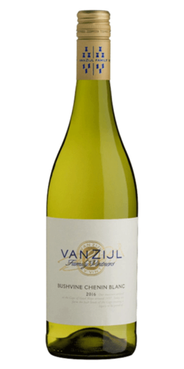 Van Zijl Chenin Blanc hvidvin produceret af Van Zijl fra Wellington i Sydafrika