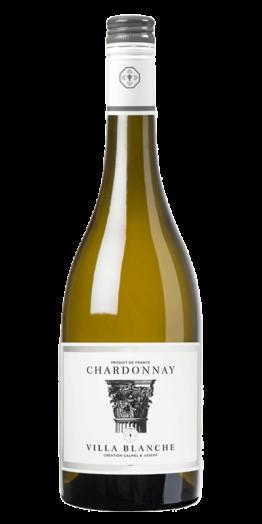 Villa Blanche Chardonnay hvidvin produceret af Calmel&Joseph fra Languedoc-Roussillon i Frankrig