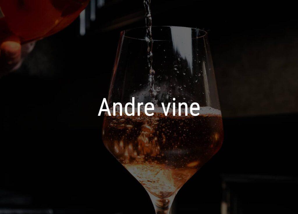 Et glas hvor vin fra Winedrop hældes i